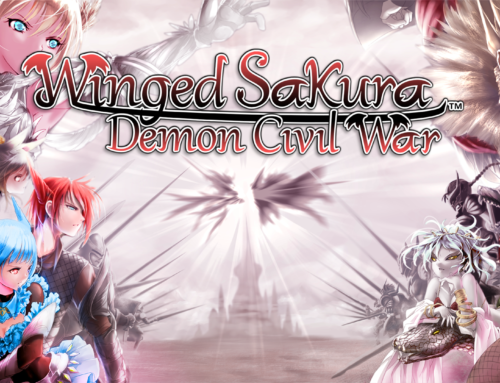 Winged Sakura: Demon Civil War is coming to Steam on December 8, 2016!